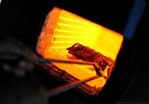 Температура закалки металла не должна превышать 1300 градусов.