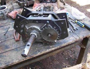 Минитрактор своими руками с двигателем от мотоблока фото 331