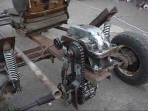 Редуктор к электродвигателю своими руками
