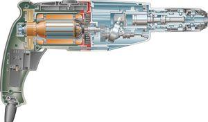 Конструкция перфоратора Bosch GBH 4 DFE