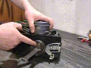 Бензопила партнер 350 ремонт своими руками видео