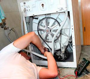 Подключение электродвигателя стиральной машины