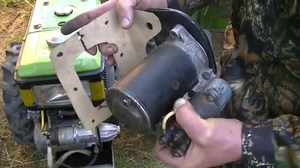 Как сделать простую лебедку из стартера своими руками