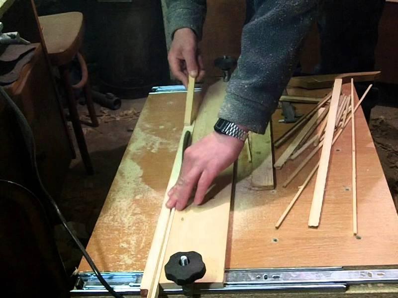 Нюансы изготовления циркулярного станка своими руками
