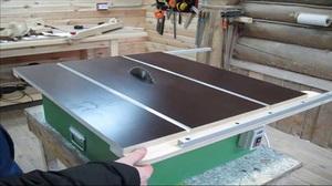 Способ изготовления столешницы для циркулярного станка