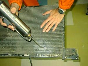 Ремонт радиаторов своими руками