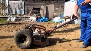 Виброплита с колесами - транспортировать изделие будет просто.