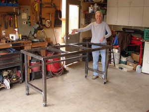 Как сделать верстак в гараж своими руками: особенности