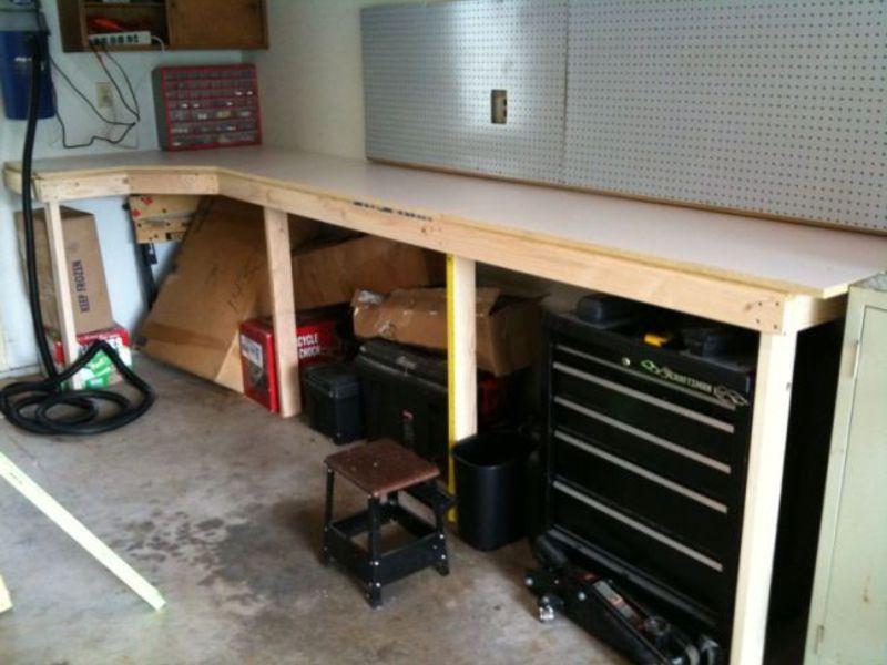 Верстак своими руками в гараж