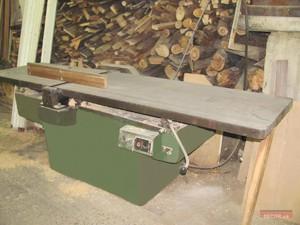 Технические характеристики фуговальных станков по дереву