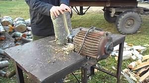 Как изготовить винтовой дровокол