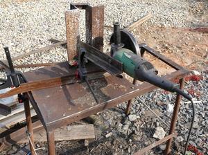 Отрезной станок из болгарки своими руками чертёж фото 884