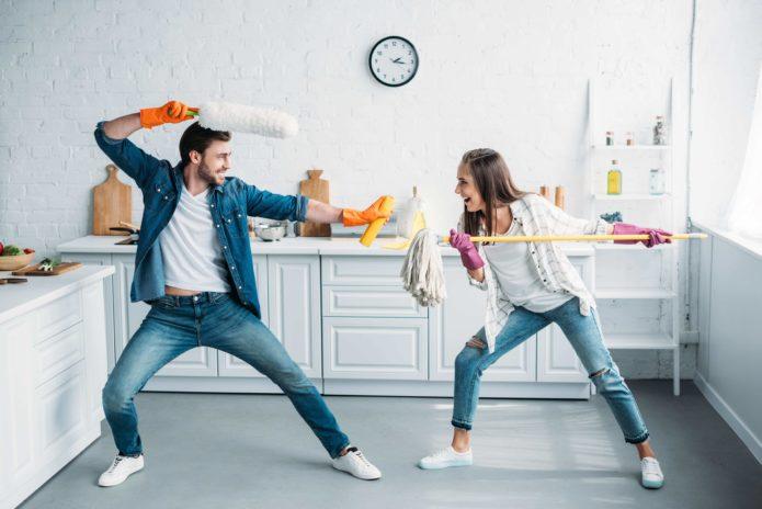 разделение обязанностей в семье