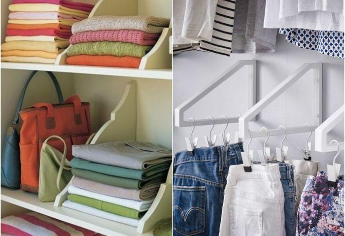 Как организовать порядок в гардеробе: пошаговая инструкция