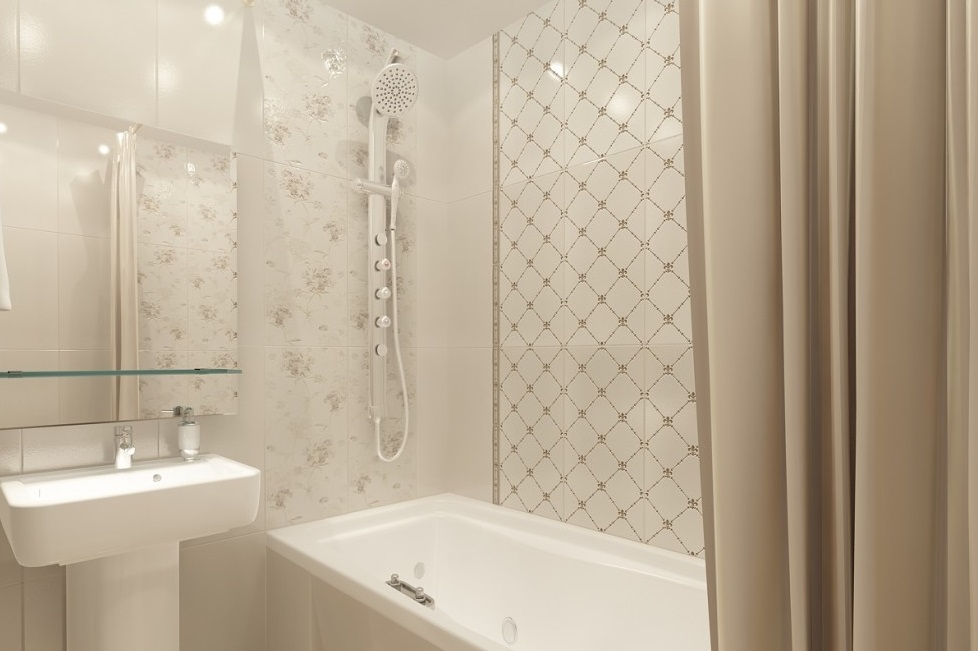 4 простых способа, как сделать тесную ванную просторнее