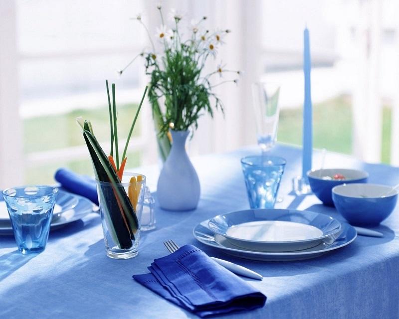 Голубая тарелка