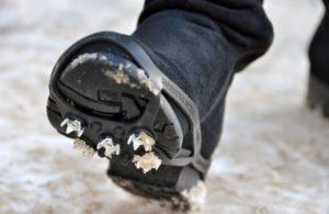 Шипы на обуви