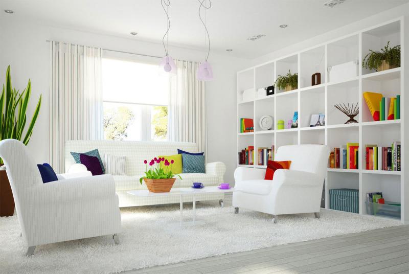 5 причин не бояться белого цвета в интерьере