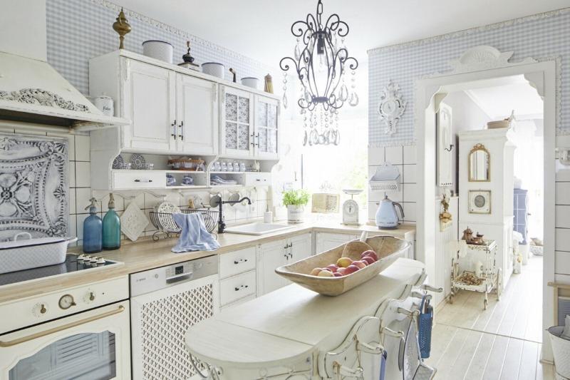 10 оригинальных идей, которые помогут создать кухню в стиле шебби-шок