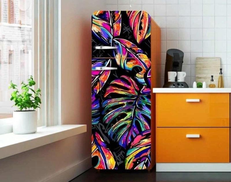 Не только магнитики: 5 необычных идей, которые сделают ваш холодильник произведением дизайнерского искусства