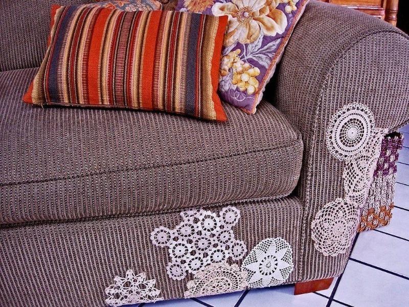 Как использовать старые бабушкины салфетки в современном интерьере: 6 отличных идей