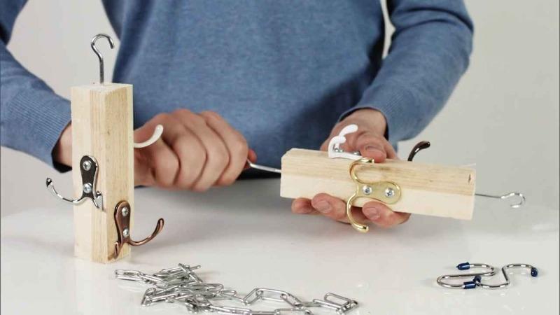 3 идеи, как сделать вешалки своими руками, чтобы навести порядок в доме