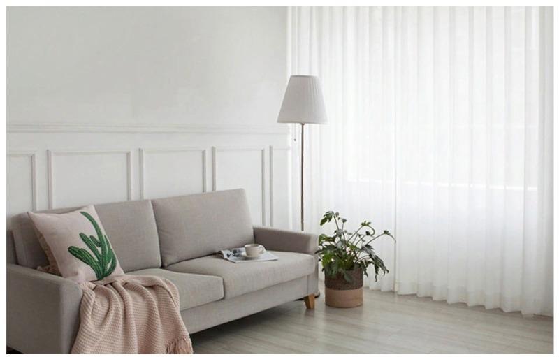 Белее белого: 5 простых идей, как отстирать тюль