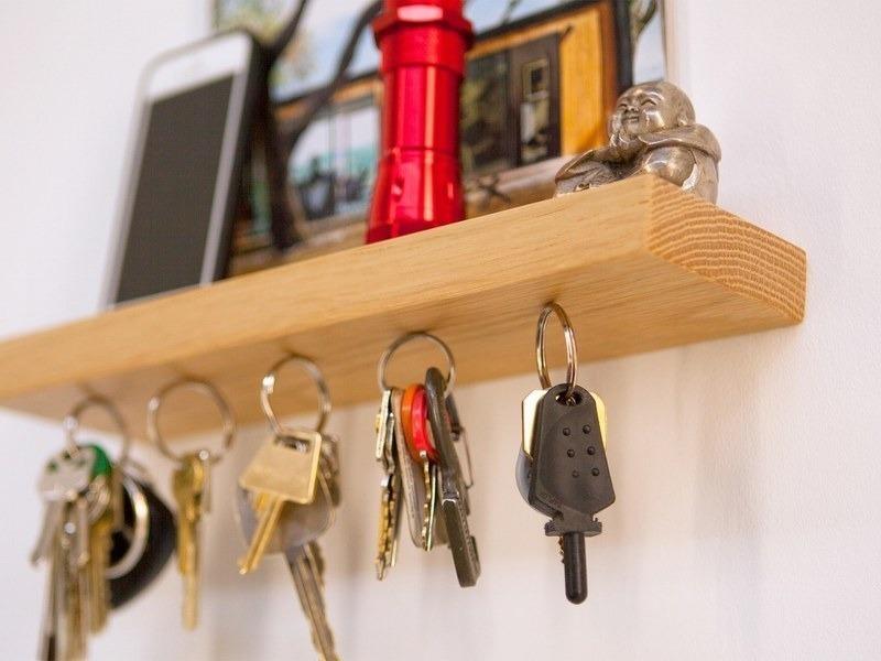 Для тех, кто часто теряет ключи: 7 нетривиальных идей для хранения