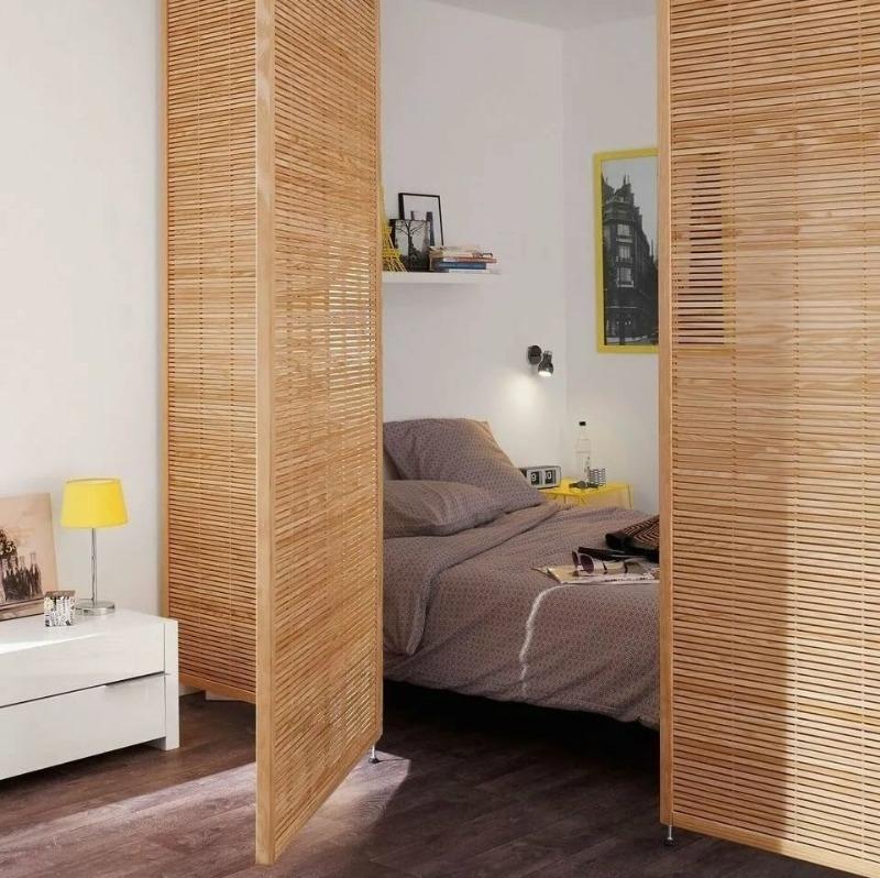 7 приемов от дизайнеров, которые превратят однокомнатную квартиру в двухкомнатную