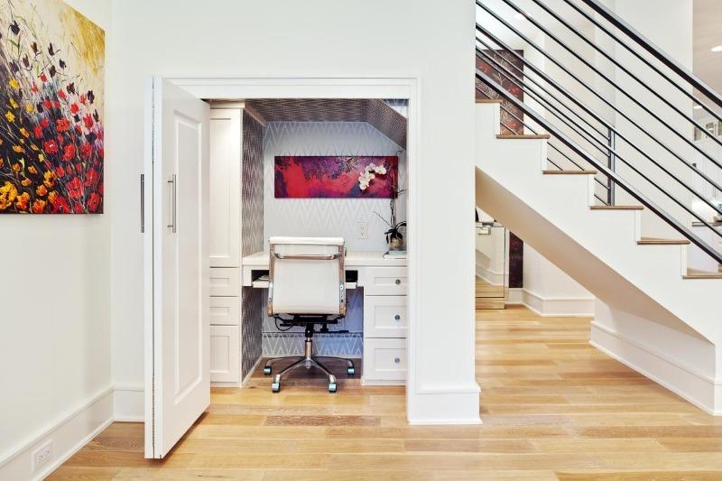 10 гениальных идей для организации рабочего места в небольшой квартире