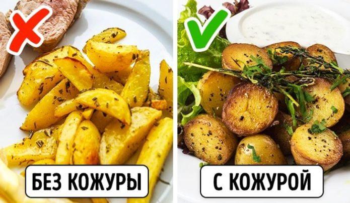 Как правильно есть молодой картофель