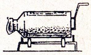 Ручная бетономешалка из фляги