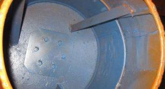 Резервуар бетономешалки