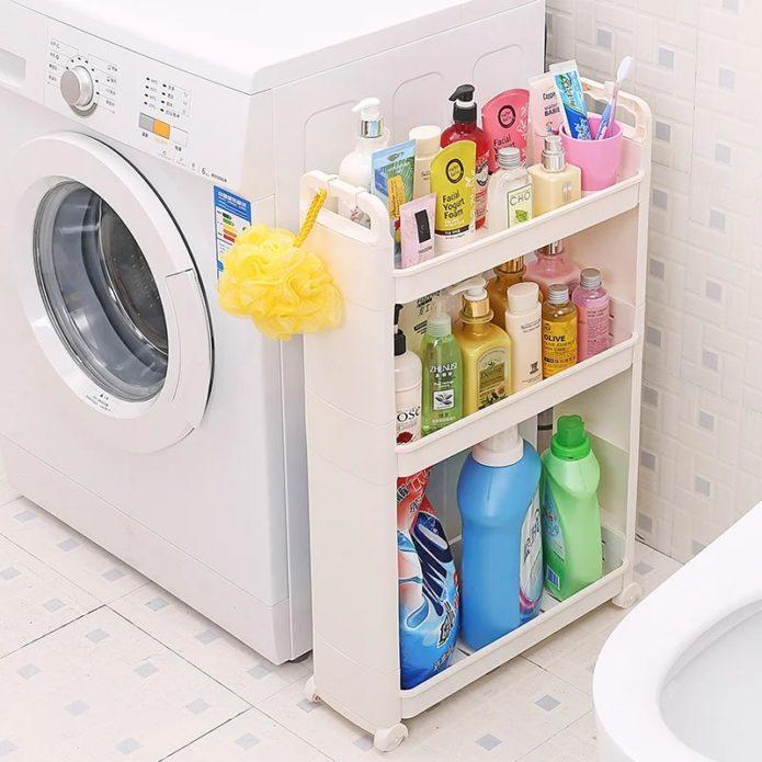 моющие средства в ванной