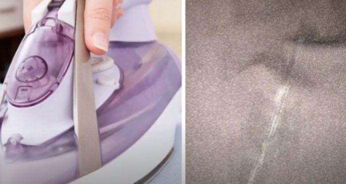 Как убрать белое пятно от утюга на одежде. 6 народных методов и лайфхак от подруги