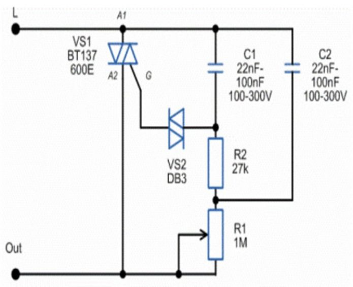 Светорегулятор для светодиодных ламп